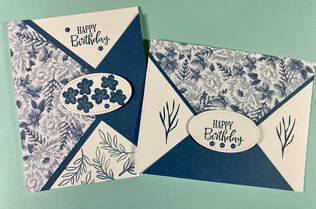 flowers for every season, Stampin' Up! stitched shapes