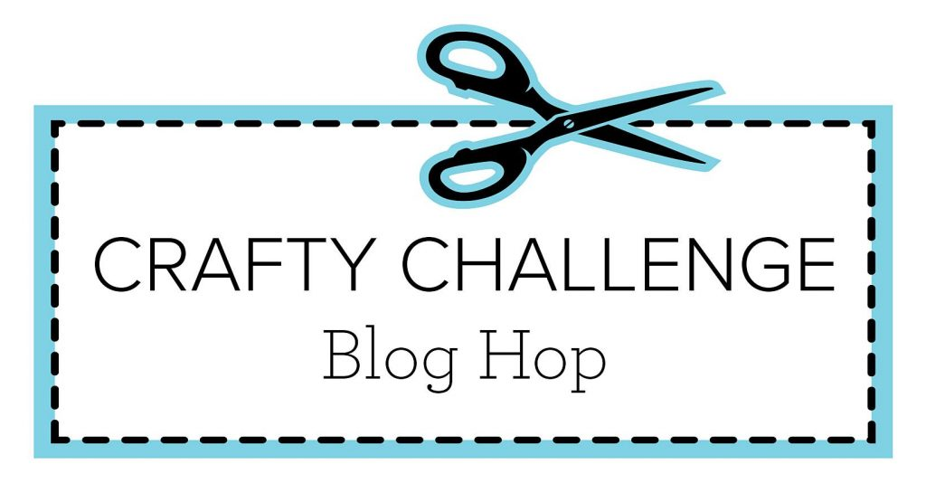 Graphic for the Crafty Challenge Blog Hop.