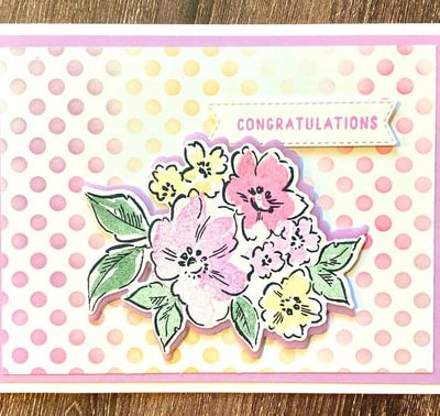 Hand Penned and In Colors Crafty Challenge