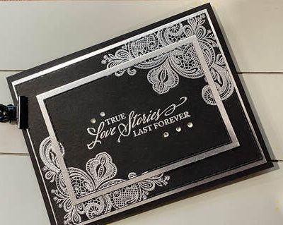 Elegantly Said Anniversary Card