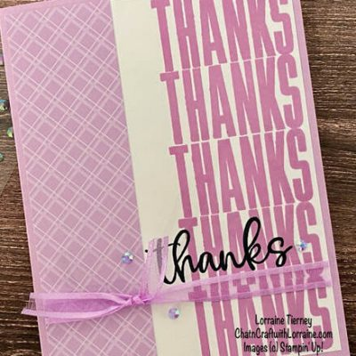 Biggest Wish Thank You Card