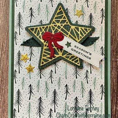 Make It Sparkle Tidings and Trimmings Card