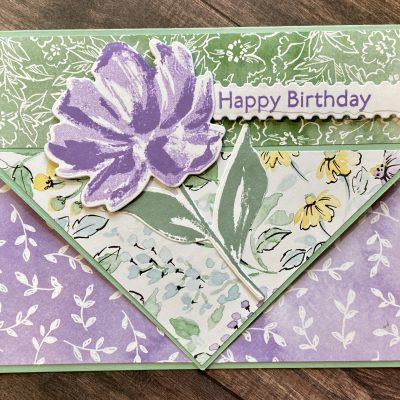 Pointed Pocket Card