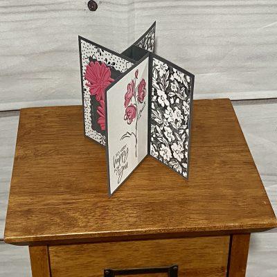 Pinwheel Tower Card