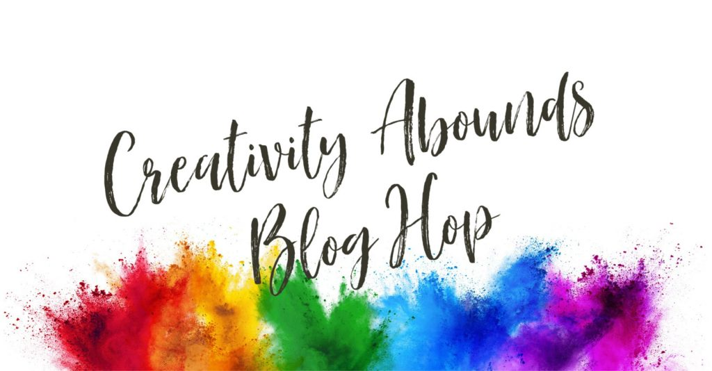 Colorful splash of inks with Creativity Abounds Blog Hop