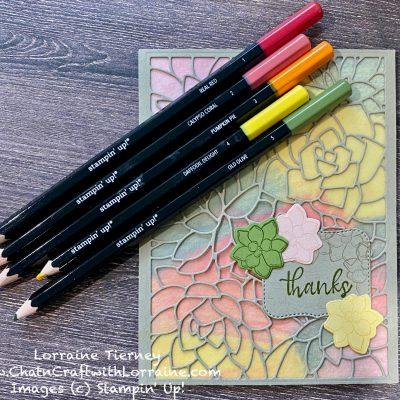 Simply Succulents – Water Color Pencils Blog Hop