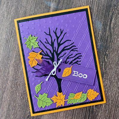 Spooky Tree Halloween Card