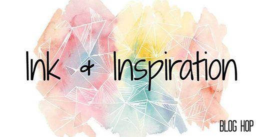 Colorful graphic design for Ink & Inspiration blog hop