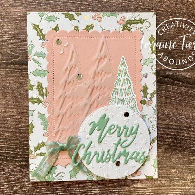 Whimsy & Wonder Vellum Tree Card